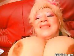 Hot old slut putting crazy stuff in her part3