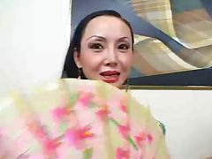 Asian MILF Creamed On Her Big Tits tube porn video