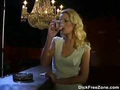 Blonde Pornstars In Lesbian Action