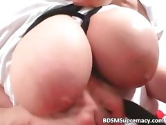 Big tits Asian chick enjoys in BDSM play part6