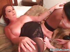 Two horny busty lesbians lick and fuck part2 tube porn video