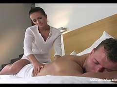Massage then Fuck tube porn video