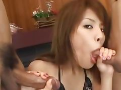 sexy asian anal fucking with pants