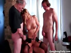 Admirable blonde fulfills her sex dream part6