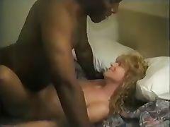 Mature slutty white wife takes black seed tube porn video