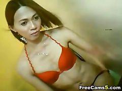 Dancing petite babe stripper webcam