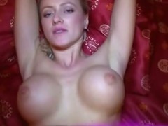 Sexy blonde Vicktoria sucking and fucking for money