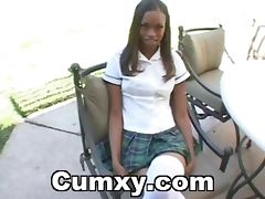 Hot Ebony Babe Screwed Hard