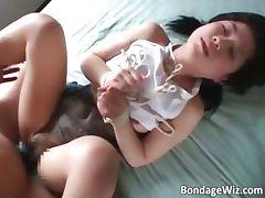 Amateur hairy Asian slut wet pussy part1