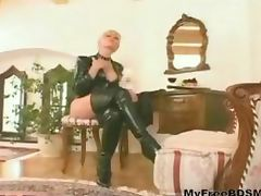 Blondy bdsm bondage slave femdom domination porn tube video