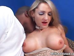 Lustful blonde MILF wants that huge tube porn video
