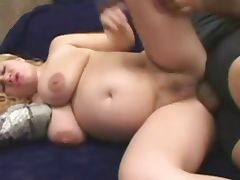 curvy blonde preggo tube porn video