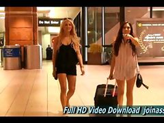 Cassie and Chloe makes FTV girl girl shoots so fun and natural