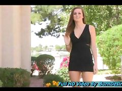 Brina flashing public teen