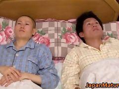 Maki Tomoda real asian doll enjoys tube porn video