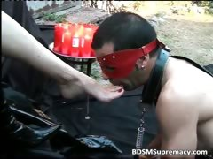 Outdoor BDSM play where leather mistress tube porn video