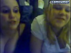 Cam of 2 lesbian teen sexy friends on chat No5301