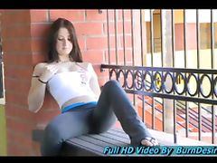 Veronika adorable teen schoolgirl