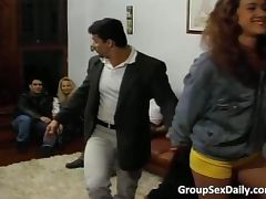 Amazing group sex party full