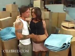 Anna Nova Getting Drilled In The Warehouse