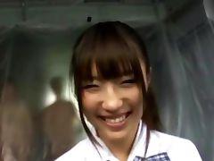 Watch jap schoolgirl hoe get cumshots
