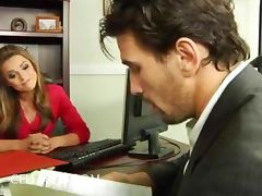 Office hottie Tori Black boned in stockings office hardcore porn tube video