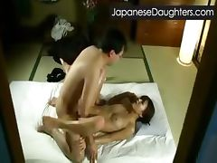 Daddy and japanese daughter