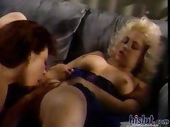 Lesbians making love tube porn video
