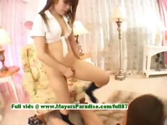 Ayane Sakurada hot asian schoolgirl enjoys hard sex