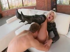 He Likes Her Boots Off and Fully Nude When Fucking tube porn video