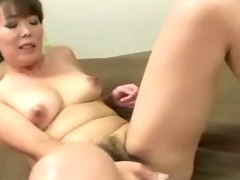 Asian mature slut takes a strangers cock deep down her throat tube porn video