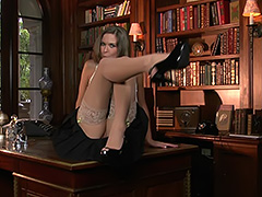 Adrienne Manning Perfect Desk Ornament tube porn video