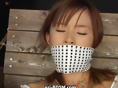 Masturbation and fisting asian bound girl tube porn video