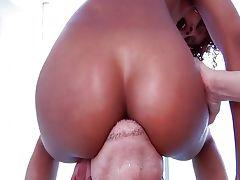 Black babe Misty Stone tube porn video