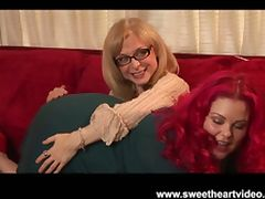 Nina hartley's bbw redhead lez tube porn video