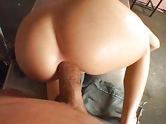Super hot Rebeca ass creampied