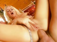 Anal with blonde Helen Birne
