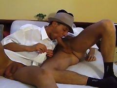 Cock gulping gay twinks hardcore bareback fucking