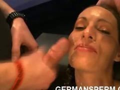 Horny euro sperm maniacs