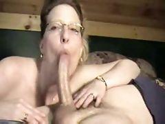 Housewife amazing Blowjob on neighbor tube porn video