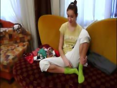 Homemade girlfriend Natasha at hotel tube porn video