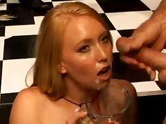 Ami Emerson Eats A Cum Omelette
