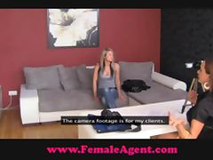 FemaleAgent Suspicious and sexy tube porn video