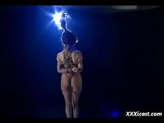 Asian Shibari Submission porn tube video