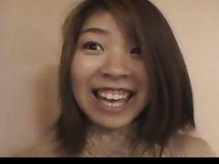 Japanese amateur Nagisa in public tube porn video
