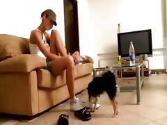 Shy Natasha teen from europe in my house tube porn video