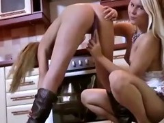 Two horny hotties get dirty with each other