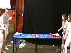 Strip Beer Pong with Johnny Joe Kat and Da