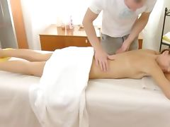 Naughty massage foreplay