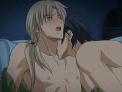 Hentai gay kisses and hardcore sex porn tube video